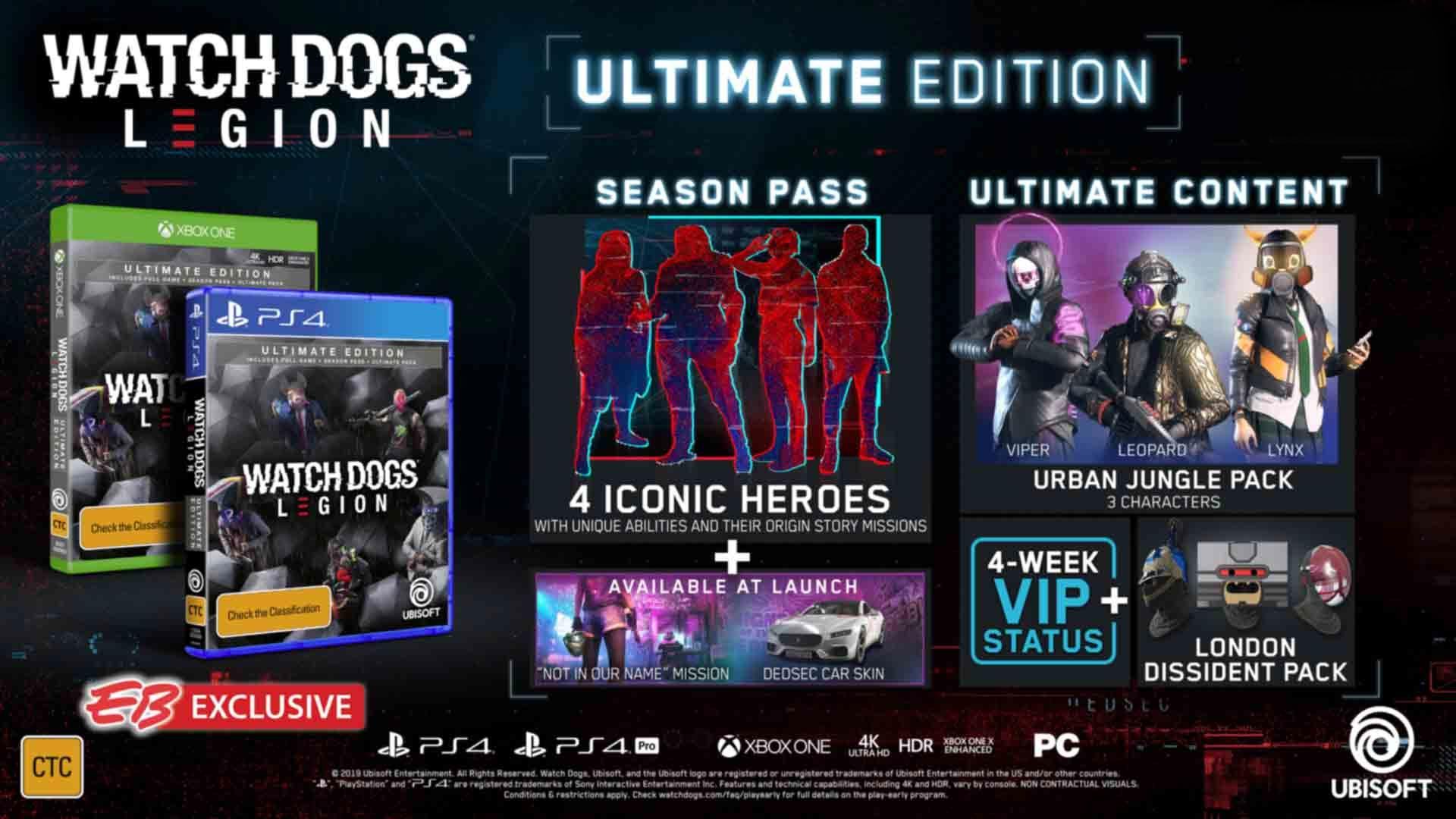 Here S Every Edition Of Watch Dogs Legion