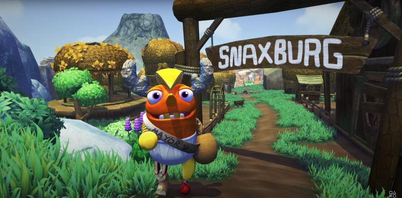 First Bugsnax Gameplay Trailer Shows Off Tools, Traps and Tortillas