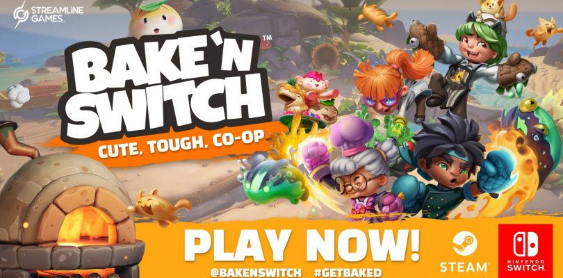 Bake 'N Switch Is Now Cooking On Nintendo Switch