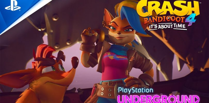 Tawna Announced As A Playable Character In Crash Bandicoot 4: It's About Time