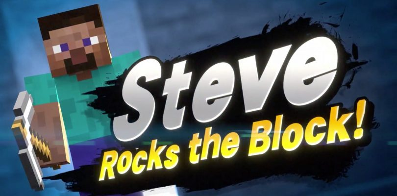 The Next Fighter In the Super Smash Bros Ultimate Fighters Pass Is Steve From Minecraft