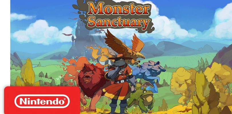 Kickstarter Success Monster Sanctuary Gets A December Release Date Plus A PS4 And Xbox Release
