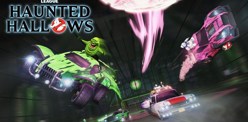 Rocket League's Haunted Hallows Event Will Feature Spooky Ghostbusters Items