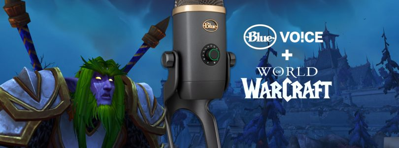 Blue Microphones Introduces Yeti X World of Warcraft Edition With Voice Modulation
