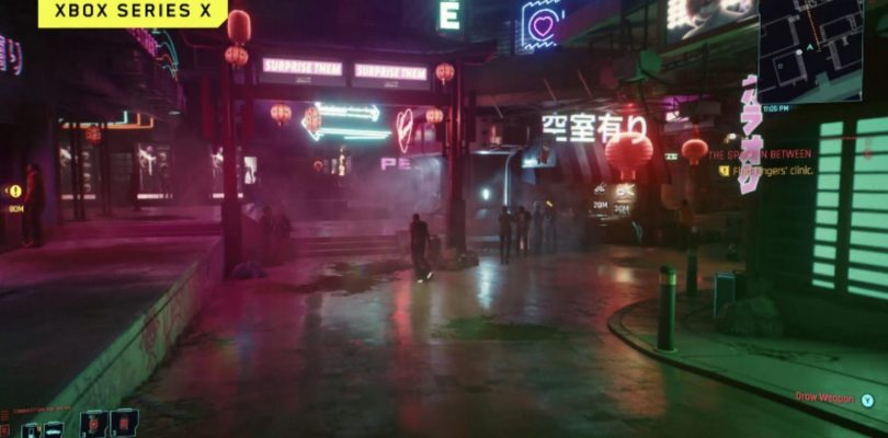 Here's The First Footage Of Cyberpunk 2077 Running On Xbox One X And Xbox Series X