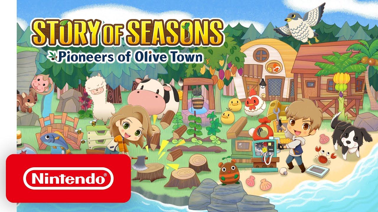 Story of Seasons Pioneers of Olive town